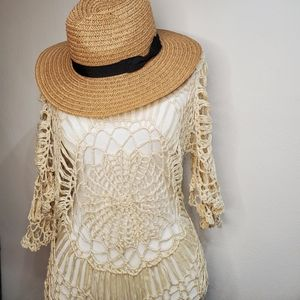 Other - Crochet Swimsuit coverup